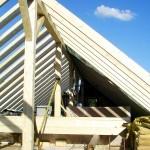 Dachkonstruktion Holzbau Feuerfeil Lauterbach Vogelsberg